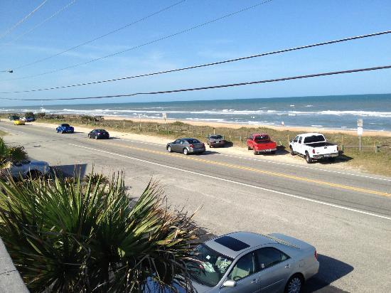 Ocean Mist Motel: view from deck