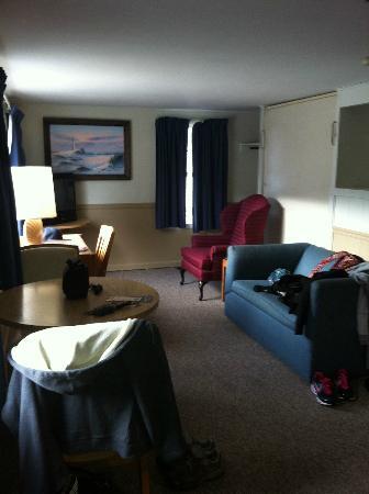 Days Inn Lincoln: livingroom area