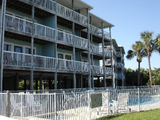 Natures Landing Condominium: Private balconies