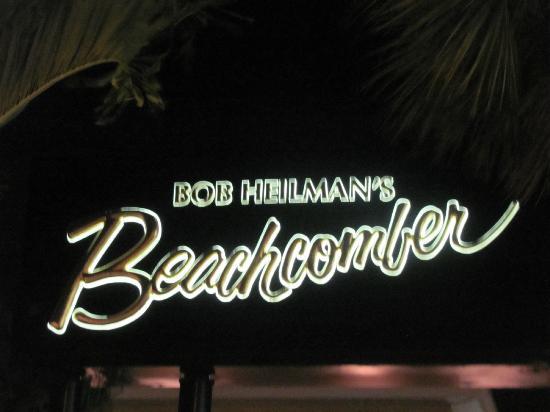 Bob Heilman's Beachcomber: Marquee