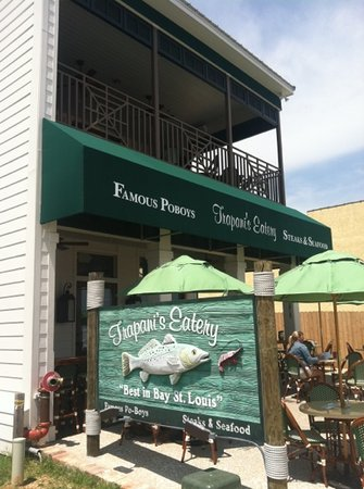 Photo of Seafood Restaurant Trapani's Eatery at 116 N Beach Blvd, Bay Saint Louis, MS 39520, United States