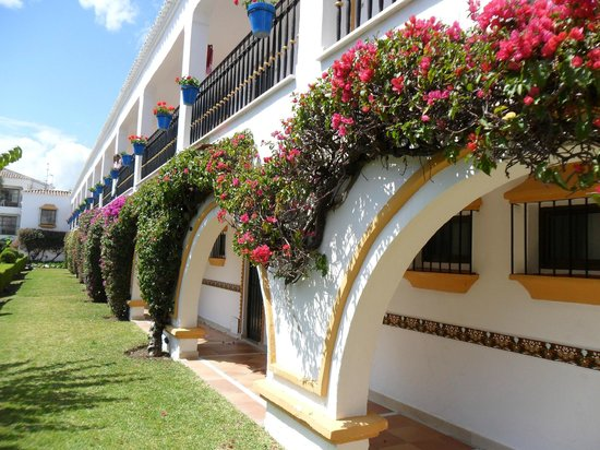 Globales Cortijo Blanco Hotel: rooms by the back pool