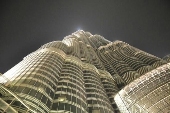 Landmark Hotel Baniyas: Burj Khalifa