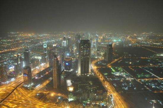 Landmark Hotel Baniyas: At the top Burj Khalifa