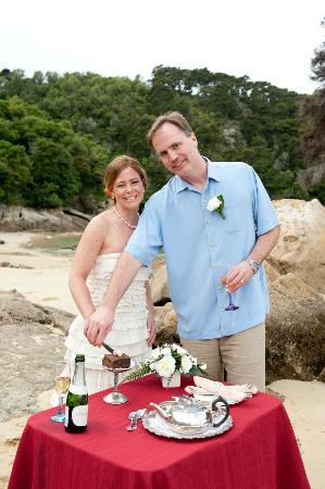 Sea Limousines: Wedding goodies!  Thanks Terri & Jim!