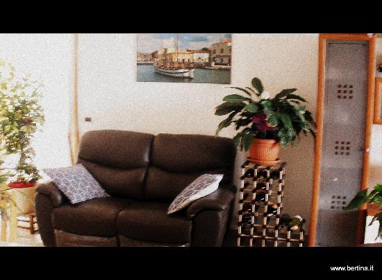 B&B Bertina: interno salotto