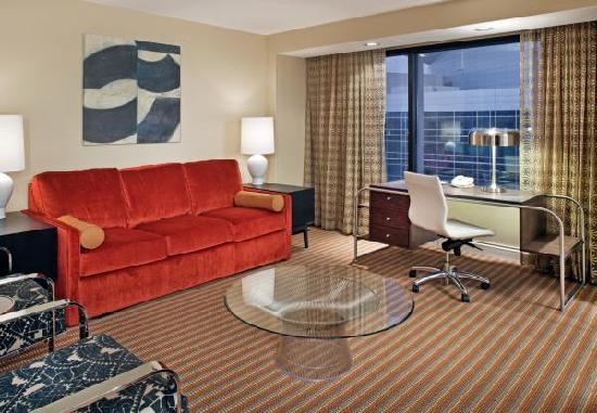 Hilton Omaha: Newly renovated hospitality suite