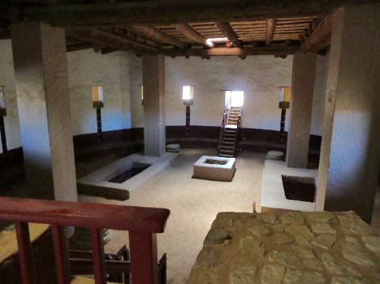 Aztec Ruins National Monument: Kiva interior