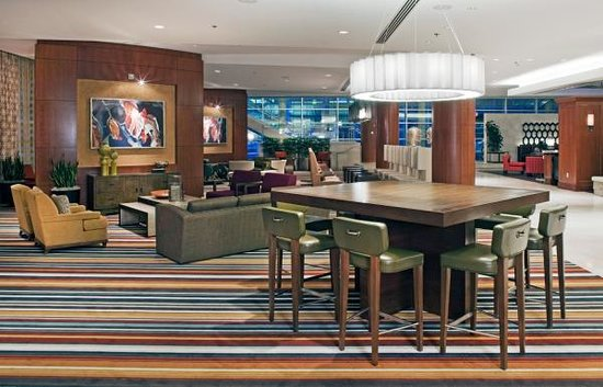Hilton Omaha: Newly renovated lobby