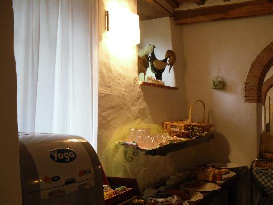Hotel Relais San Lorenzo: Colazione a buffet