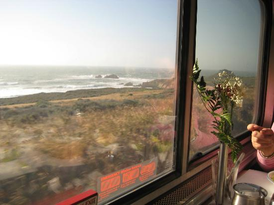 Coast Starlight: view from train 2