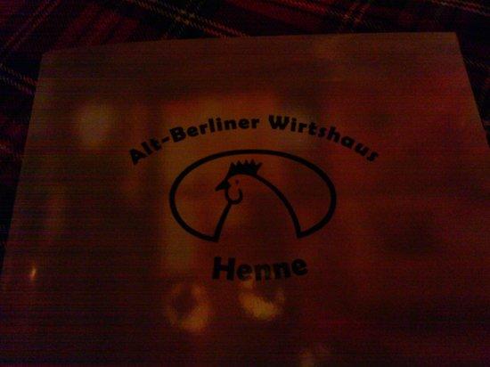 Henne: Logo