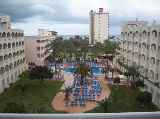 Hotel Riu Costa Lago: vista desde la habitacion planta 4ª