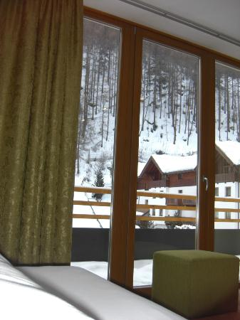 Hotel Bäckelar Wirt: Nice view from the bed