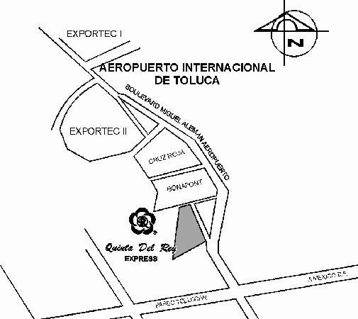 Quinta del Rey Express: CROQUIS