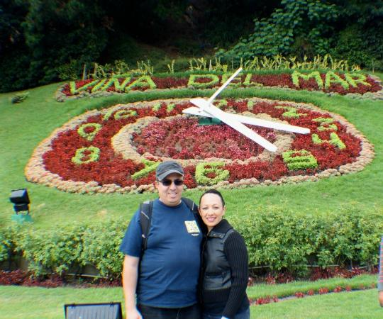 La Casa de Henao: The flower Clock in Vina del Mar