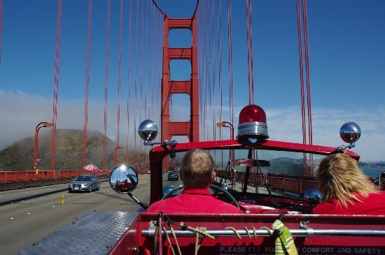 ‪San Francisco Fire Engine Tours & Adventures‬