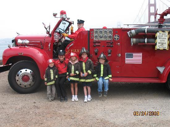 Fire Engine Tours San Francisco Ca