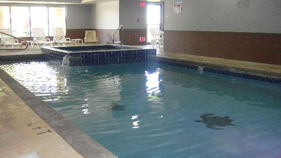 Quality Inn Merrillville: Indoor Pool with Hot Tub
