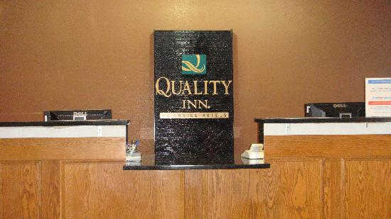 Quality Inn Merrillville: Reception