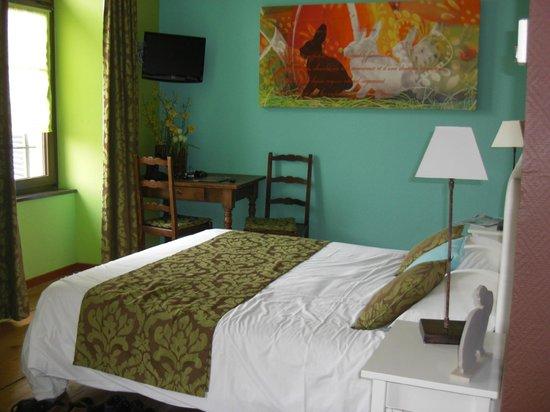 Hotel le Gouverneur: Triple room 113