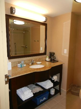 Hampton Inn Sudbury: bathroom