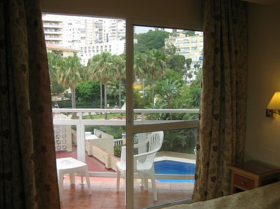 Hotel Don Paquito: View from Corner Room