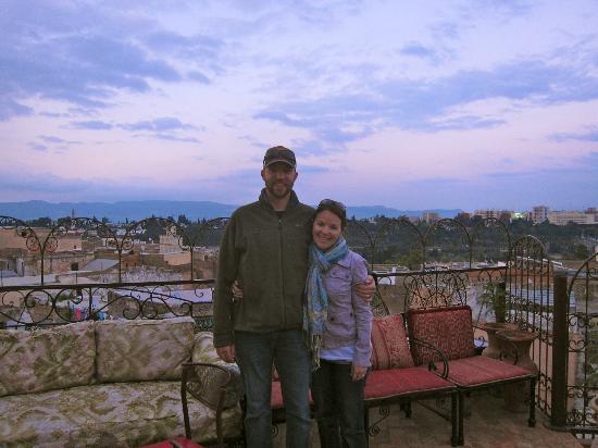 Riad Hiba Meknes: terrace