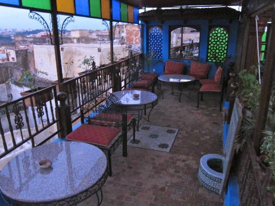 Riad Hiba Meknes: Rooftop terrace