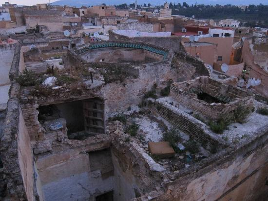 Riad Hiba Meknes: View of Meknes from rooftop
