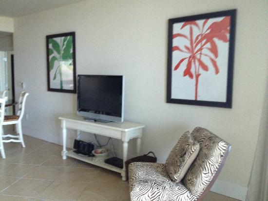 Caribe Resort: Living room