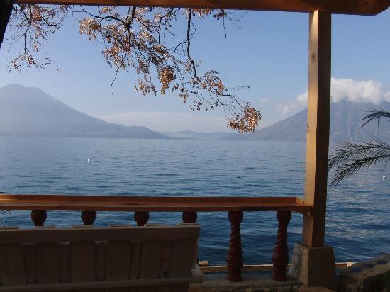 La Casa Rosa Hotel: Der traumhafte Ausblick auf den Vulkan San Pedro
