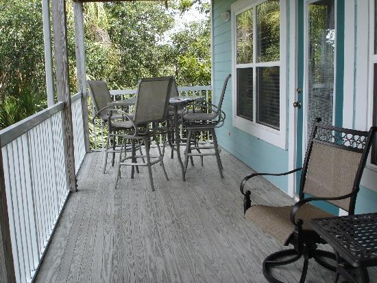 Natures Landing Condominium: Private balconies