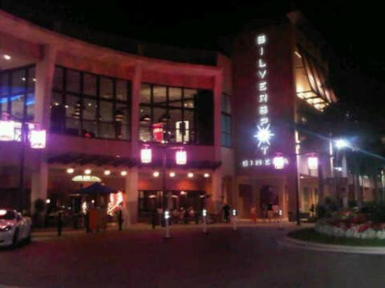 Silverspot Cinema: Exterior. Its in the second floor
