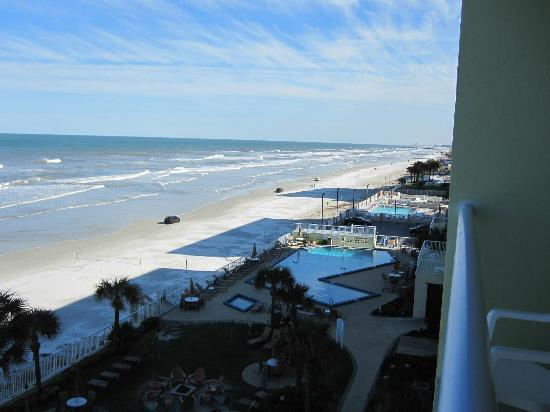 Bluegreen Daytona Seabreeze, Ascend Resort Collection: View of the ocean from our deck