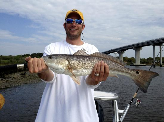 Shallow Minded Inshore Charters with Capt. Mark Dickson: Nice Redfish