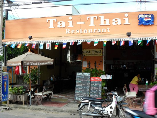 Tai-Thai: Centrally located authentic Thai restaurant. Excellent food and service.