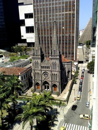 Hotel ibis budget Rio de Janeiro Centro: View from the room window