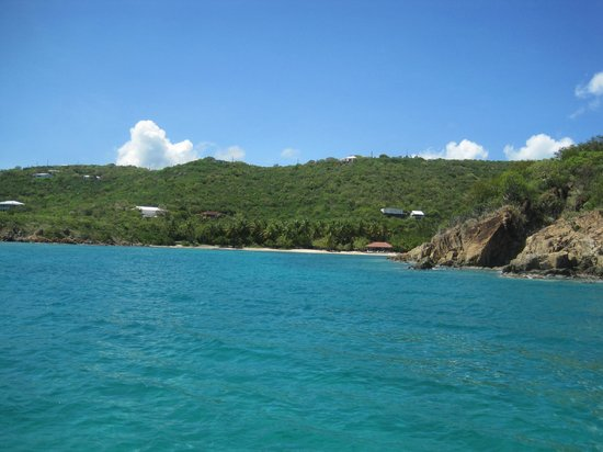 Virgin Islands Day Sailing: No other boats in the bay!