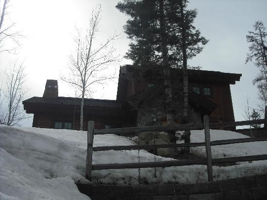 Tamarack Resort: the cottage we rented