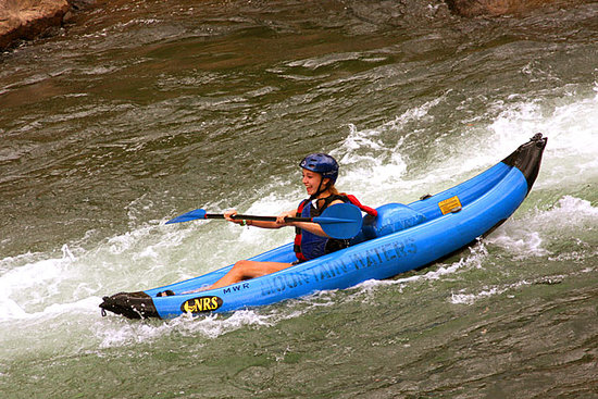 Mountain Waters Rafting & Adventure Company : Inflatable Kayaks on the Lower Animas