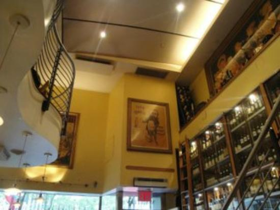 Morrell Wine Bar & Cafe: L'interno