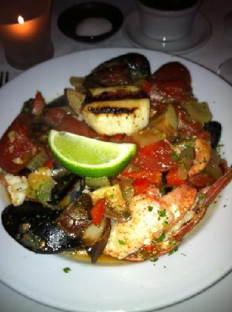 Red Sky : seafood stew