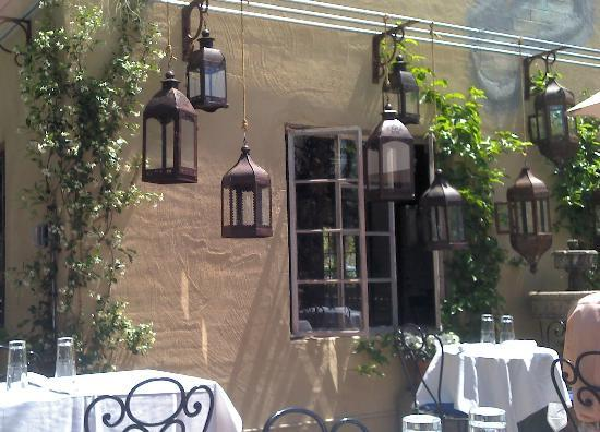 Cafe Monarch: Patio Seating