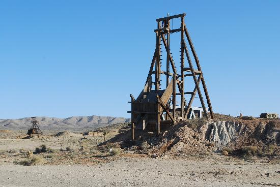 Gold Point Ghost Town: one of the many mines