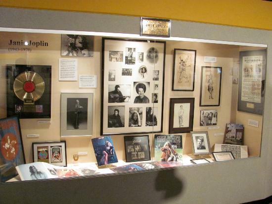 Museum of the Gulf Coast: Janis Joplin