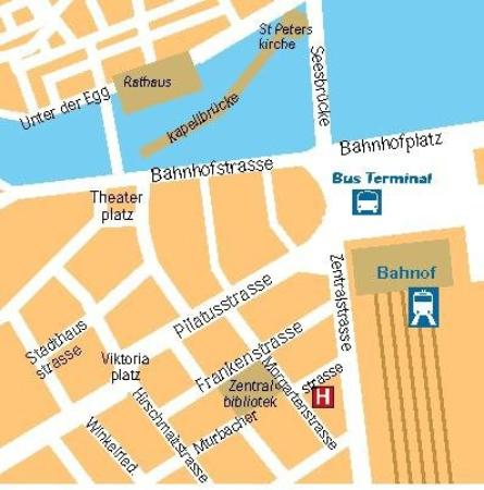 Central Hotel: Maps