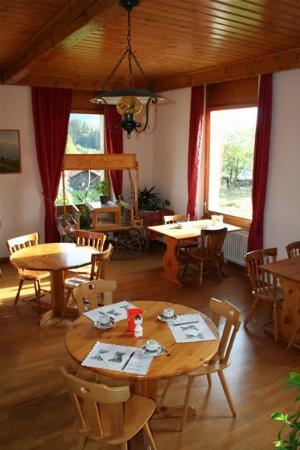 هوتل لا فليش دي آي: Restaurant