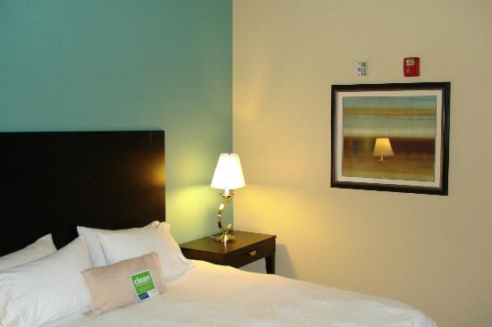 Hampton Inn: bedroom wall colors