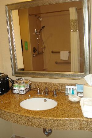 Hampton Inn Orange: large sink area